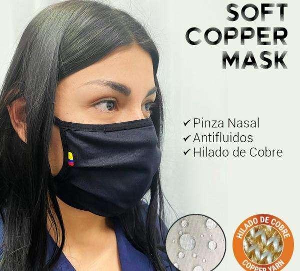 Tapabocas soft y cooper mask 0