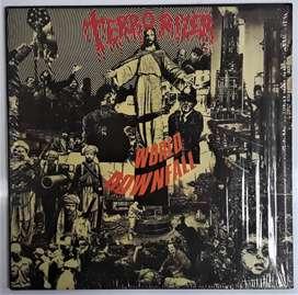Terrorizer World Downfall Vinilo Earache 2013 U.k