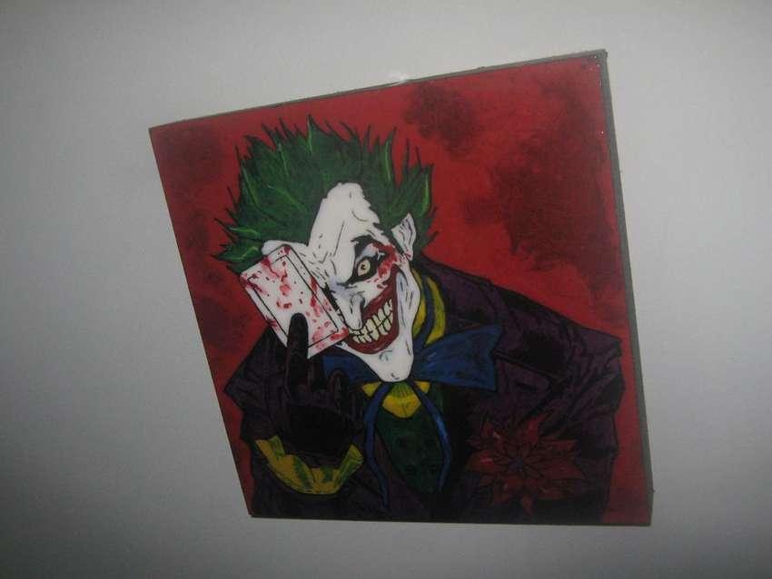 cuadro decorativo comic joker 0