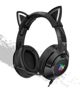 Audifonos Oni K9-2 negro nuevo