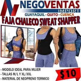 FAJA CHALECO SWEAT SHAPPER EN DESCUENTO EXCLUSIVO DE NEGOVENTAS