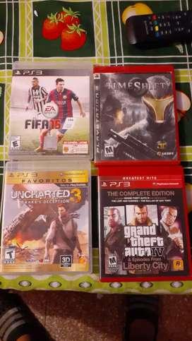 Vendo juegos en buenas considencia consultar precios