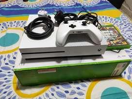 Vendo Xbox one s de 1 tb como nuevo