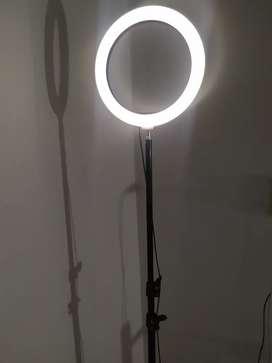 Aro de luz con trípode incluido 1,98 de alto