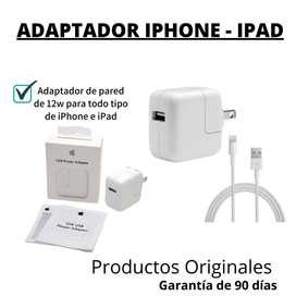 Adaptador iphone - ipad 12w
