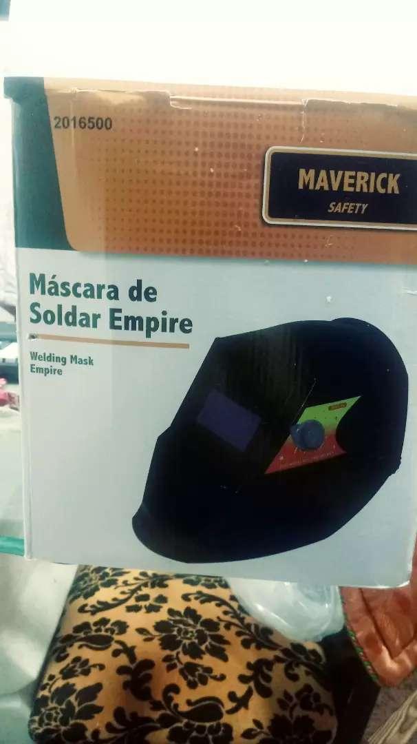 Vendo Máscara de Soldar Empire digital 0