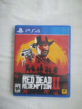 Red dead redemption II en excelente estado