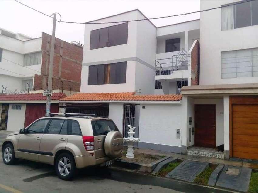 Alquilo Habitaciones Estreno C/Baño Frente Parque Los Cedros Chorrillos 0