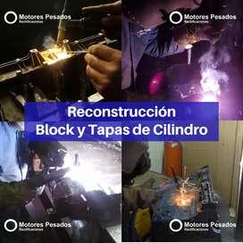 Soldaduras para Motor | Reconstrucción De Block
