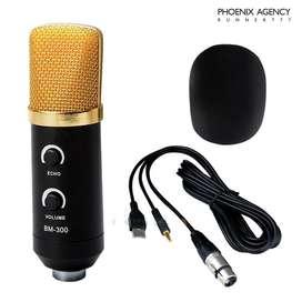 Kit Microfono De Condensador Profesional Usb Grabacion para PC