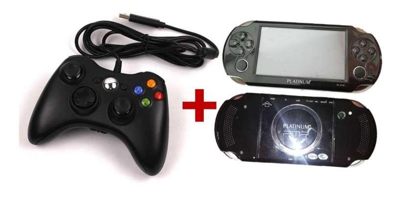 Control Xbox 360 Usb + Pmp Platinum 4 Gb 0