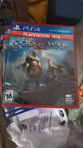 GOD OF WAR PS4 GOW Nuevo y Sellado !!! ;)