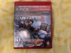 Uncharted 2 Among thieves ps3 fisico