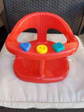 Silla de baño bebe Infanti Con Juego Babymovil