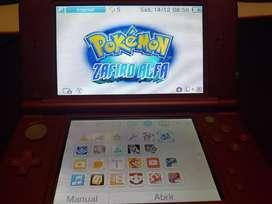 New Nintendo 3DS XL. Incluye 11 juegos, cargador y funda.