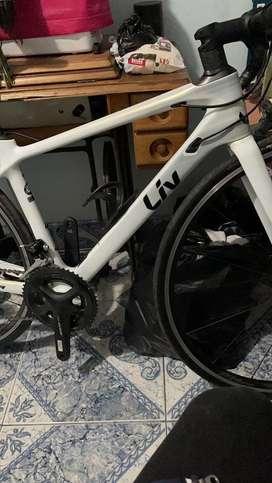 Bicicleta de ruta liv langma adv 2 2020 xs