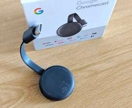 Google Chromecast 3 SELLADOS