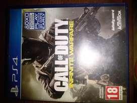 Vendo videojuego de PS4 Call of duty Infinity warfare