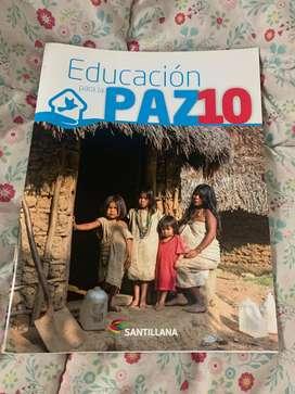 Educacion para la paz grado 10