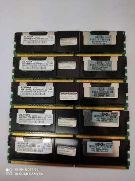 MEMORIAS SERVIDOR DDR2,4GB, JAPONESA