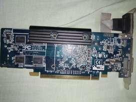 Se vende tarjeta gráfica ATI Radeon HD4350 1gb ddr2 funciona perfecto, ideal para coleccionistas o torres para dar video