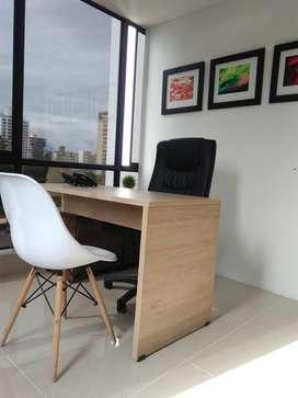 Oficinas totalmente amobladas