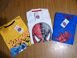 Remeras Super Heroes