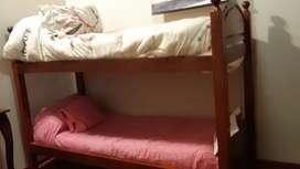 Vendo cama cucheta