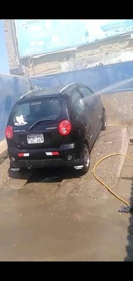 Vendo Chevrolet spark  año 2012  empadronado para taxi con aros de magnesio 13,500 soles segunda mano  Perú