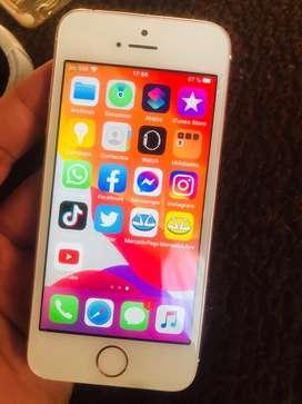 Iphone SE rose 64gb libre de todo funcionamiento perfecto .