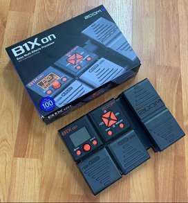 PEDALERA BAJO ELÉCTRICO ZOOM B 1 XON MULTIEFECTOS (PD-BA-10)
