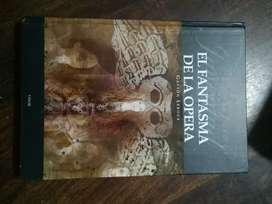 "Libro ""El fantasma de la ópera""."