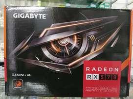 Tarjeta de Video Gigabyte Rx570 4G Nueva