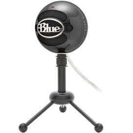 Micrófono Usb Con Sonido Cristalino Marca Blue