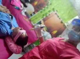 Masajes limpieza facial pestañas cejas