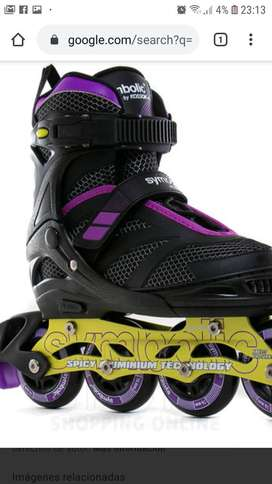 Vendo 2 par de Roller marca Koosok nuevos se agrandan del 34 al 38