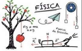 CLASES PERSONALIZADAS MATEMÁTICA Y FISICA