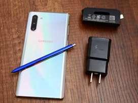 Vendo Samsung galaxy note 10 plus  con factura y garantía de 1 año
