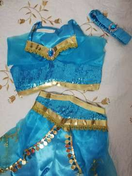 Disfraz de princesa Jazmín Aladino hermoso nuevo
