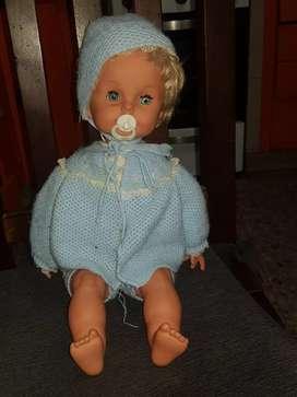 Muñeca bebe italiana
