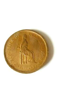 Moneda de 5 pesos policarpa