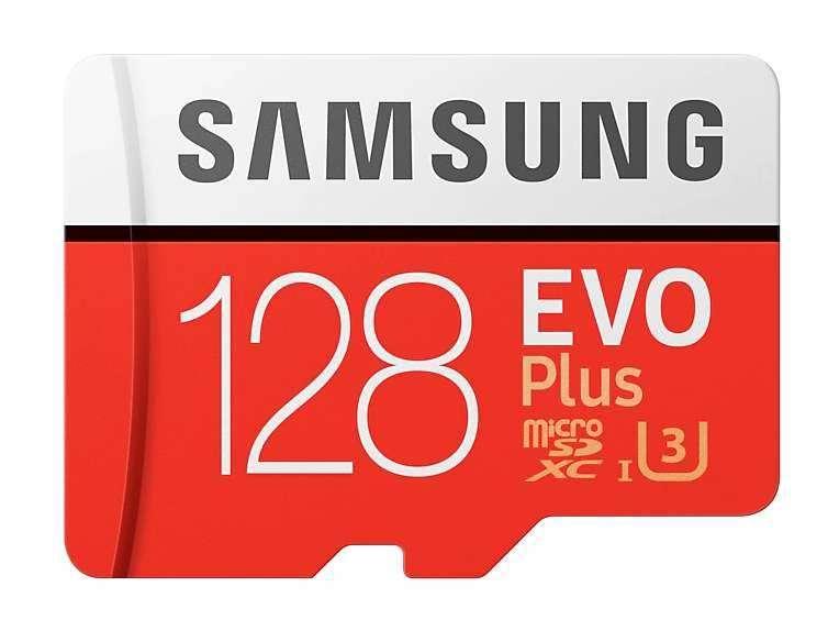 Memoria Micro SD Samsung Evo Plus 128GB Clase 10 U3 4K