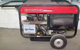 Planta electrica Honda 6.5 kw japonesa