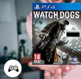 WATCH DOGS PARA PS4 NUEVO