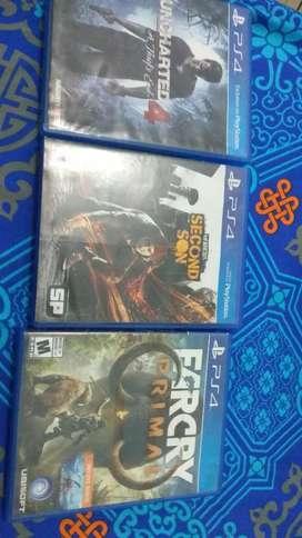 Video juegos ps4 excelente estado
