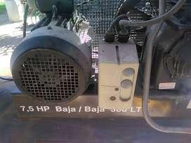 COMPRESOR 7,5 HP 300  LTS alta baja