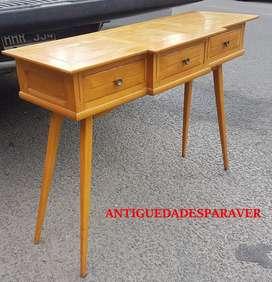 Consola dresuar mini escritorio diseño retro vintage escandinavo 60s