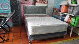 Base+colchón doble. Pilow