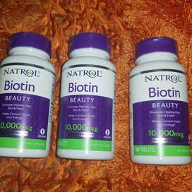 Biotin 10.000 mg americano