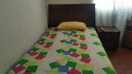 Cama semi doble